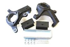 "GMC SIERRA 1999-2006 LIFT KIT FRONT 3"" SPINDLES REAR 3.5"" STEEL LIFT BLOCKS  2WD"