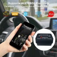WIFI Car Fault Code Reader Engine Diagnostic Scanner Reset Tool OBD2 II CAN