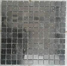 Granit Mosaik Matte Star Galaxy Schwarz 30x30 cm 8 mm Matt-Poliert mix Fliesen