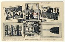 Heilstätte GRABOWSEE - seltene MEHRBILDKARTE s/w (9258/94)