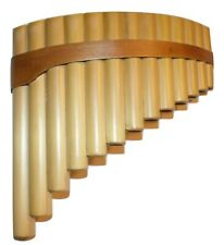 Small Pan flute 13 Pipes Natural Bamboo