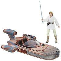 Star Wars The Black Series Luke Skywalker Landspeeder  Figure