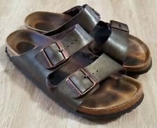 Birkenstock Womens Sandals Size 39 8 Arizona Brushed Brown
