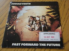 """Zodiac Youth-Fast Forward the Future 7"""" vinyle PS"""