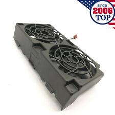 HP XW6400 XW6200 XW6600 Workstation Dual Rear Fan Assembly 349573-001 Clean