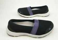 Ryka Luxe Women Sz US 10W UK 8 EUR 41.5 Slip-On Mesh Shoe Memory Foam Black
