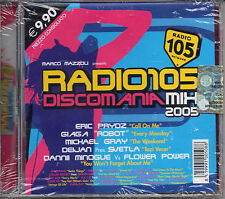 RADIO 105 DISCOMANIA MIX 2005 NUOVO SIGILLATO CD