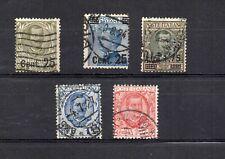 1924/26 - Regno - lotto 5 francobolli usati