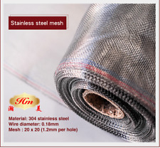 1200mm x 30m 304 Stainless steel flyscreen mesh insect screen roll