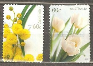 Australia: 2 used stamps, For Special Occasions, 2010, Mi#3440, 42