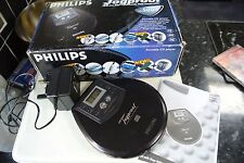 Vintage philips ax5004 CD Walkman Player Exc Condition in original box
