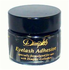 FALSE EYELASH FAKE EYELASHES ADHESIVE GLUE BLACK 15ml by Dimples