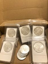 Lot of 8 American Silver Eagle Coins 1 Ounce