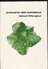 SYNTHETIC GEM MATERIALS - MICHAEL O'DONOGHUE artificial gemstones manmade