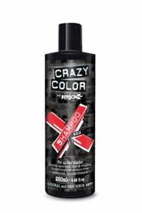 Crazy Color Vibrant Color Shampoo For All Red Shades 250 ml
