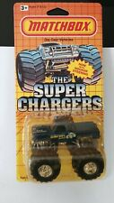 """Vintage Matchbox """"Super Chargers"""" Bigfoot 4x4x4 Monster Truck Mint Carded"""