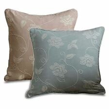 Linen Blend Floral Traditional Decorative Cushions