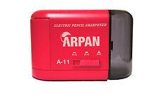 De alta calidad de escritorio Sacapuntas eléctrico con pilas Rosa