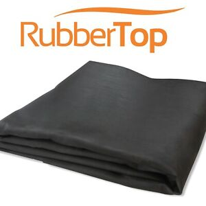 RubberTop 1.2mm Heavy Duty EPDM Rubber Roofing Sheet Material | Flat Roof