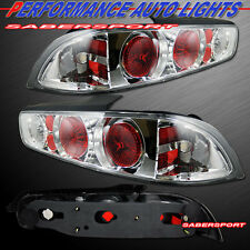 1994-2001 ACURA INTEGRA 3DR HATCHBACK ALTEZZA STYLE TAIL LIGHTS CHROME PAIR