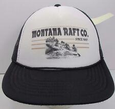 Montana Whitewater Raft Rafting Hat Cap Trucker Snapback USA Printed New #bp