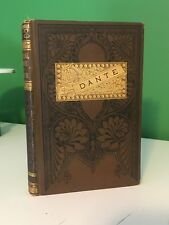 1883 The Divine Comedy Dante Alighieri Inferno Paradise Purgatory Victorian Gilt