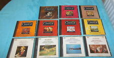 11 Classical Music cds ft Beethoven Bach Grieg Schubert Vivaldi Mendelssohn