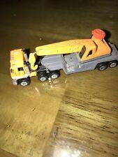 Micro Machines Construction Crane Orange/Gray, 1994 LGTI