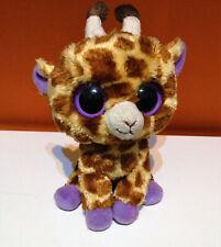 Grandi occhi - Giraffa Violetta di Peluche 15 Cm