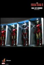 Hot Toys Iron Man 3 Hall of Armor - DS001B *SET OF 4