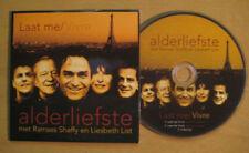 ALDERLIEFSTE RAMSES SHAFFY LIESBETH LIST Laat me 2-track + video CDS Card sleeve