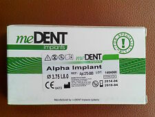15Sets:dental implant Alpha,Beta+abutment st. in a pack. mDE.Zahnimplantat.SALE!