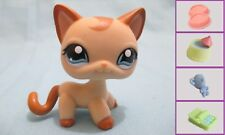 Littlest Pet Shop Cat Shorthair Siamese 1024 and Free Accessory Authentic Lps