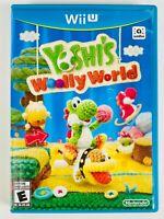 Yoshi's Woolly World (Wii U, 2015) Authentic, Working