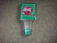 "VINTAGE LUCITE BUDWEISER ""FOOTBALL"" BEER TAP 1960'S"