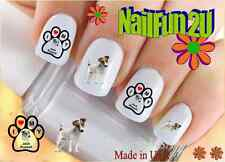 "Rtg Set#137 Dog Breed ""Jack Russell Terrier"" WaterSlide Decals Nail Art Transfer"