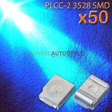 50x Azul 3528 1210 PLCC - 2 LED ultra brillante para montaje en superficie 2 SMT SMD PLCC