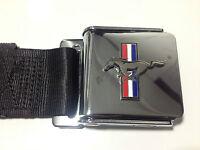 Mustang Logo Seat Belts Various Colours 1964 1965 1966 1967 1968 64 65 66 67 68