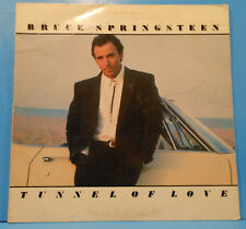 BRUCE SPRINGSTEEN TUNNEL OF LOVE LP 1987 ORIGINAL PRESS GREAT COND! VG++/VG!!C