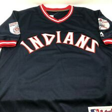 Andrew Miller Cleveland Indians Replica Throwback Stitched Jersey Mens Size S