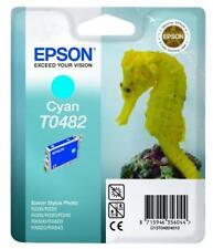 New Epson R200 R220 Cyan Ink Cartridge T0482 GENUINE!