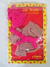 Adorable Souls by Little Souls Mini Doll Clothes Swingy Sweater and Hat