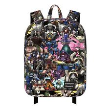d389adaf4c8 Loungefly Overwatch Character All Over Print Backpack NEW Bag School