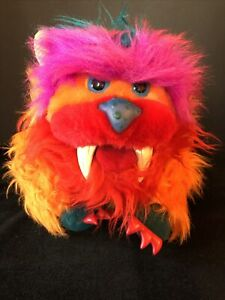 My Pet Monster Gwonk Hand Puppet Stuffed Plush Animal Amtoy Vintage 1986