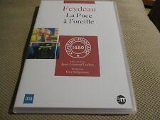 """DVD NEUF """"LA PUCE A L'OREILLE - FEYDEAU"""" Georges CHAMARAT, DESCRIERES / theatre"""