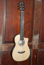 Cordoba Mini II EB-CE Nylon String Cutaway Acoustic-Electric Spruce Ebony Guitar