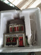 "Dept 56 Heritage Village New England Village Series ""Ann Shaw Toys "" Retired"