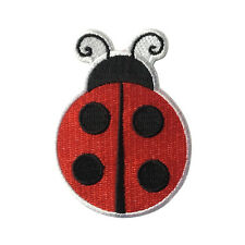 Embroidered Cute Ladybug Ladybird Kids Sew or Iron on Patch