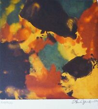 ALAIN JACQUET COMPOSITION HAND SIGNED NUMBERED LITHOGRAPH French Artist