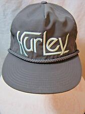 10b8c4adb86 Hurley Men s Snapback Hat Cap Gray Free Shipping !